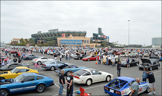 The Motorsport Auto 2016 Z-Bash Main-Show-At-Angel-Stadium Image Gallery!